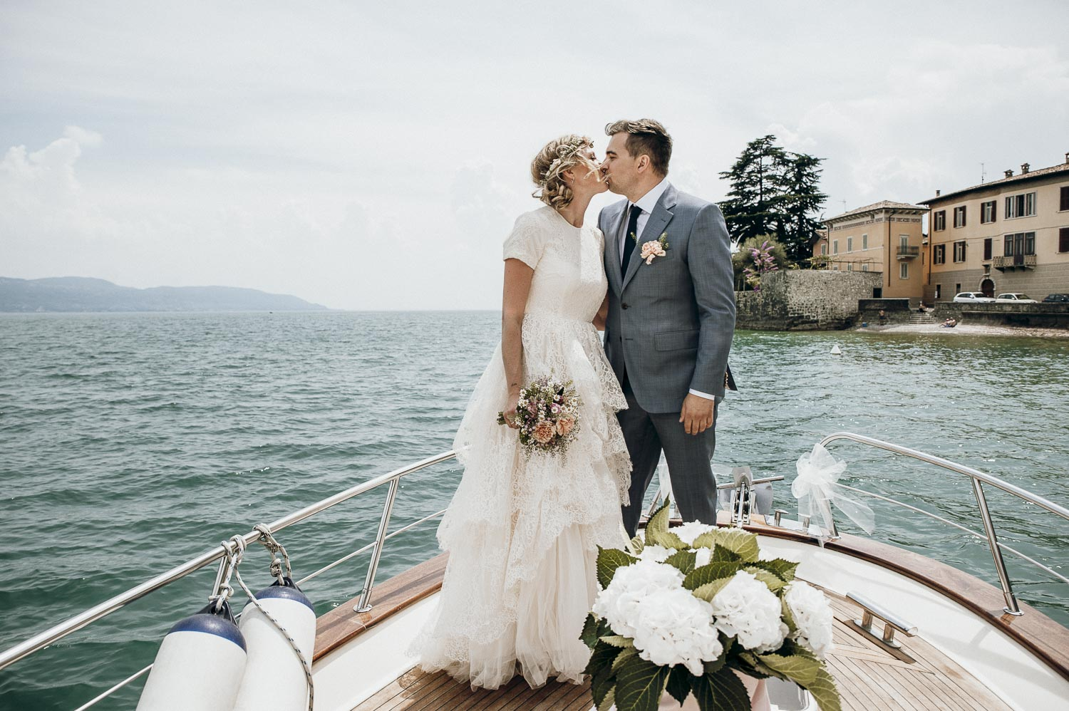 Destionationwedding photographer Gardasee