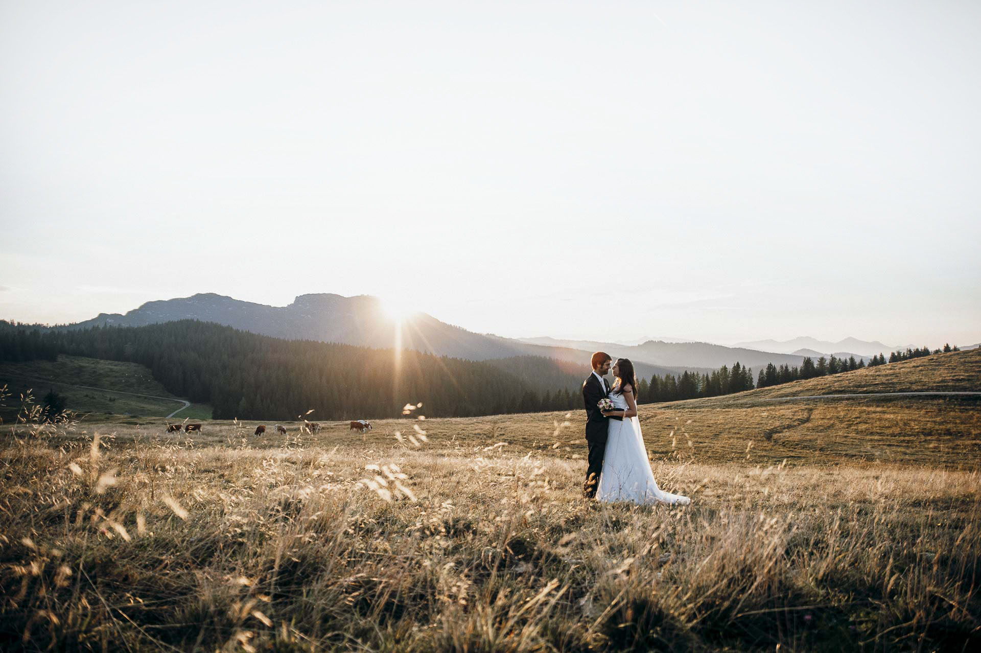 Hochzeitsfotograf in den Bergen | mountainweddings